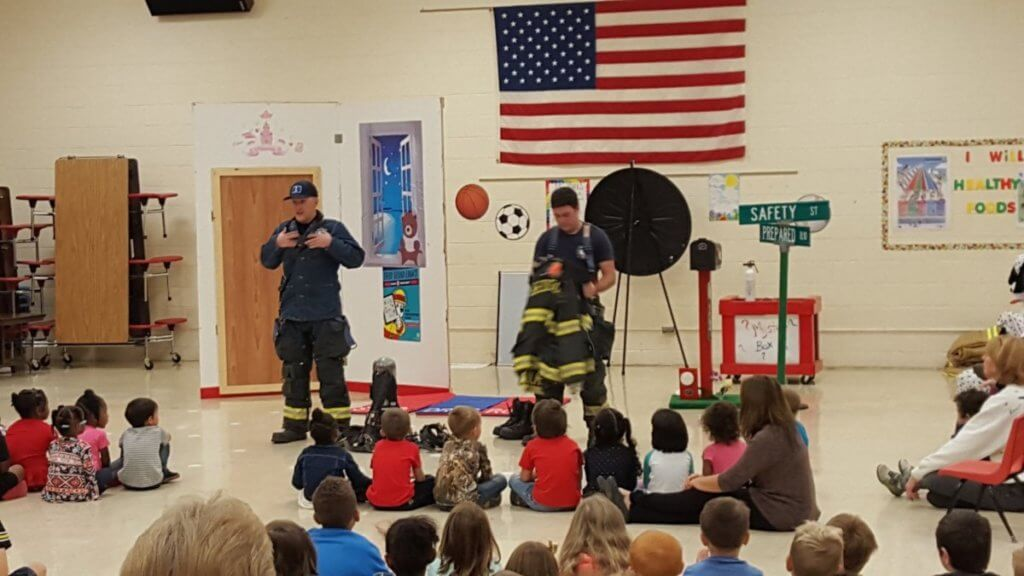National Fire Safety Month: BFD at Local Schools